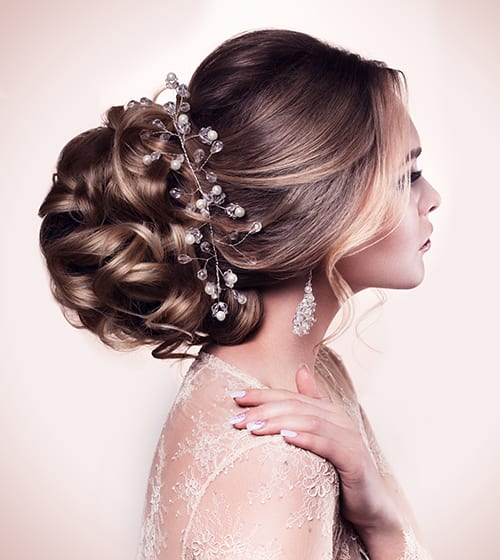 eclectic studio is a full service bridal hair salon