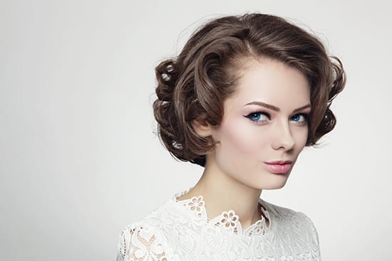 schedule your bridal party with eclectic hair salon